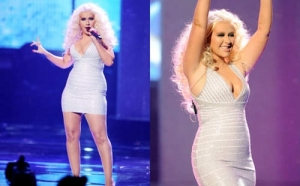Miss Fitness weightloss Cristina2 300x186 Christina Aguilera   Super Successful but still struggles with her weight