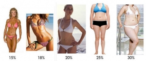 bodyfat examples 300x126 How to Tone up Fast