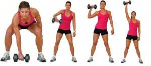 singlearmcleanpress 300x132 How to Tone up Fast