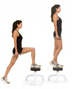 step up 243x300 The Best workout to Sculpt & Tone your Arms