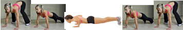 Burpee half pushups Best Stomach Exercises – Muffin Top Buster