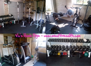 MissFitnessLife vixHomeGym1 300x217 How To Set up a Basic Gym at Home