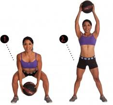 ball swing thru Best Stomach Exercises – Muffin Top Buster