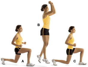 lunge jumps A Total Body Workout For Fat Loss