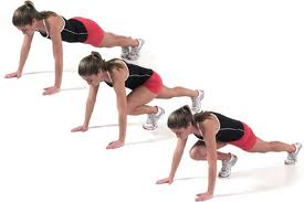 mountain climber A Total Body Workout For Fat Loss