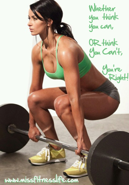 MissFitnessLife thinkYouCan The Fastest way to lose Weight