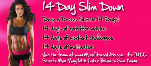 april 2013 blog post 14 Day Slim Down